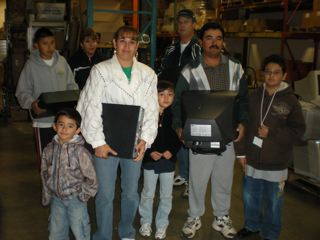 Student Recieves Computer