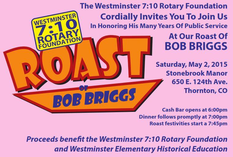 Briggs roast flyer
