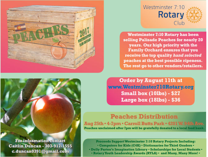 Peach Flyer