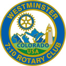7:10 Rotary logo